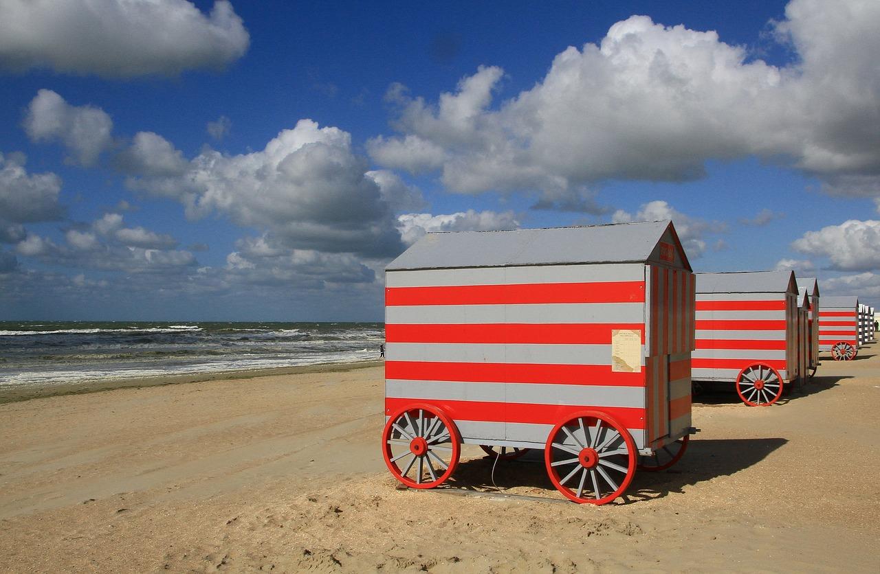Mobilní plážový dům