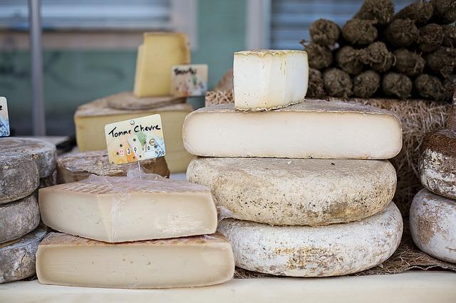 sýry z Francie