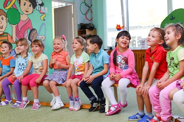 školkové děti